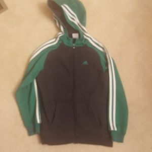 Adidas boys hoodie  size med